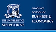 Graduate School of Business and Economics at the University of Melbourne
