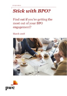 PwC BPO Healthcheck: Find out if you're getting the most out of your BPO engagement